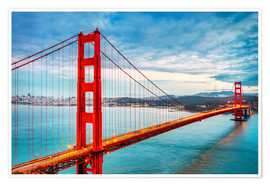 Premium poster The Golden Gate