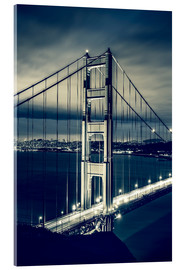 Acrylglas print  Golden Gate Bridge, San Francisco