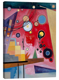 Canvas print  Heavy red - Wassily Kandinsky