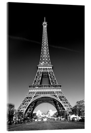 Acrylglas print  The Eiffel Tower, Paris - Sascha Kilmer