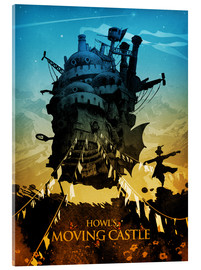 Acrylglas print  Howl's Moving Castle - Albert Cagnef
