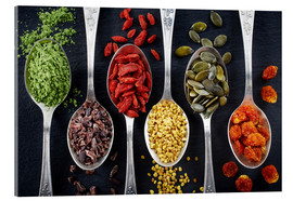 Acrylglas print  Healthy ingredients