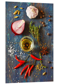 PVC print  Spices and Herbs
