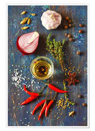 Premium poster  Spices and Herbs