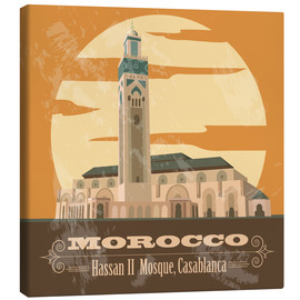 Canvas print  Morocco - Hassan II Mosque