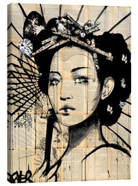 Canvas print  Lotus - Loui Jover