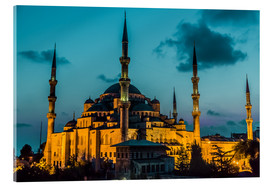 Acrylglas print  Blue Mosque in Istanbul