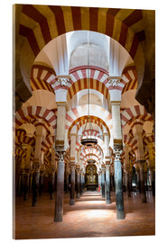 Acrylglas print  Great Mosque of Cordoba - La Mezquita