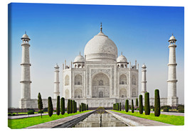 Canvas print  Taj Mahal, Agra, India