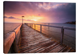 Canvas print  Bodensee sunset - Christian Möhrle