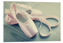 Acrylglas print  Ballet Shoes