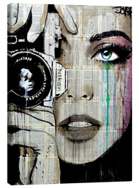 Canvas print  Through her eyes - Loui Jover