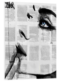 PVC print  Never know - Loui Jover