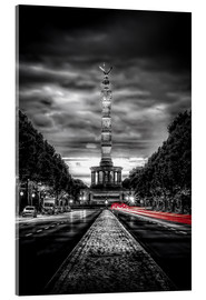 Acrylglas print  Victory Column Berlin in the evening - Sören Bartosch