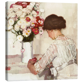 Canvas print  In thought - Josse Goossens