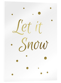 Acrylglas print  Let It Snow - Let it Snow - Finlay and Noa