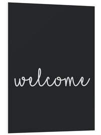 PVC print  Welcome - Finlay and Noa