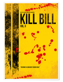 Premium poster Kill Bill 2 - Tarantino Minimal Film Movie Alternative