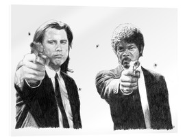 Acrylglas print  Pulp Fiction - Cultscenes