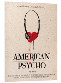 PVC print  American Psycho (English) - 2ToastDesign