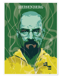 Premium poster Heisenberg, Breaking Bad