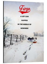 Aluminium print  Fargo (English) - 2ToastDesign