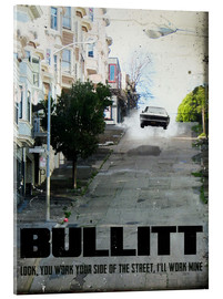 Acrylglas print  Bullitt (English) - 2ToastDesign