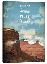 Canvas print  Thelma and Louise - 2ToastDesign