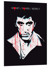 PVC print  Scarface - 2ToastDesign