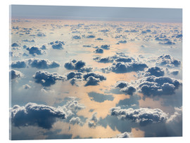 Acrylglas print  Above the clouds