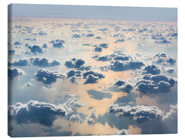 Canvas print  Above the clouds
