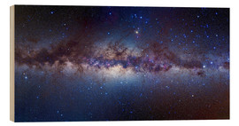 Hout print  Centre of the Milky Way - Alan Dyer