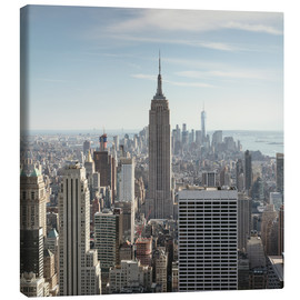 Canvas print  Manhattan skyline with Empire State building, New York city, USA - Matteo Colombo