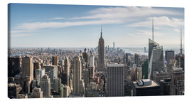 Canvas print  Manhattan skyline with Empire State Building - Matteo Colombo