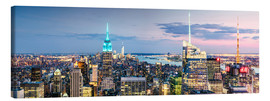 Canvas print  Empire State Panorama - Matteo Colombo