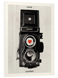 PVC print  Vintage retro camera - Nory Glory Prints