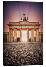 Canvas print  Brandenburger Gate Berlin - Sören Bartosch