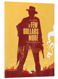 PVC print  For a few dollars more western movie inspired - Golden Planet Prints