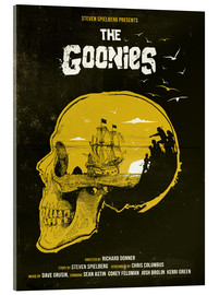 Acrylglas print  The Goonies movie inspired illustration - Golden Planet Prints