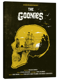 Canvas print  The Goonies - Golden Planet Prints