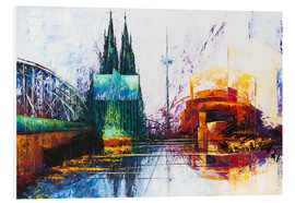 PVC print  Cologne Cathedral Skyline - Renate Berghaus