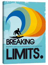 Canvas print  Surfer, Breaking limits - 2ToastDesign