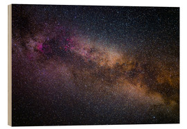 Hout print  Milky Way - The starry sky - Benjamin Butschell