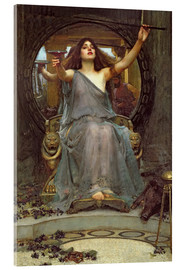 Acrylglas print  Circe Offering the Cup to Ulysses - John William Waterhouse