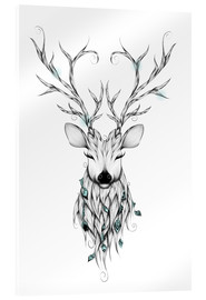 Acrylglas print  Peaceful deer - LouJah