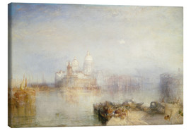 Canvas print  The Dogana and Santa Maria della Salute - Joseph Mallord William Turner