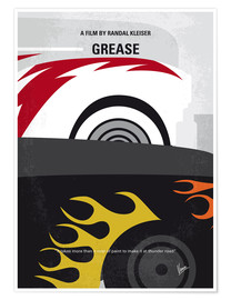 Premium poster My GREASE minimal movie poster