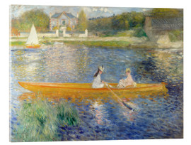 Acrylglas print  The Seine at Asnieres - Pierre-Auguste Renoir