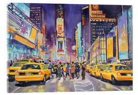 Acrylglas print  Times Square at night - Paul Simmons