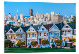 PVC print  Painted Ladies, San Francisco